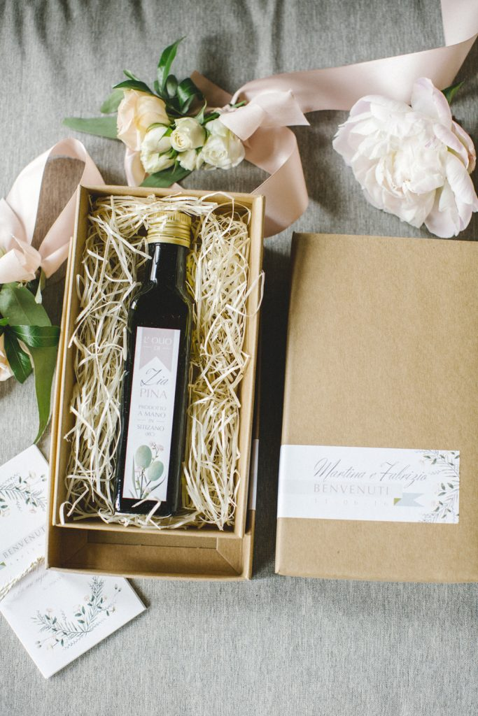 idee bomboniere olio packaging country